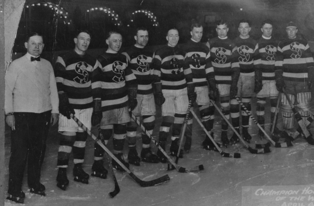 Seattle Metropolitans Stanley Cup Champions 1917