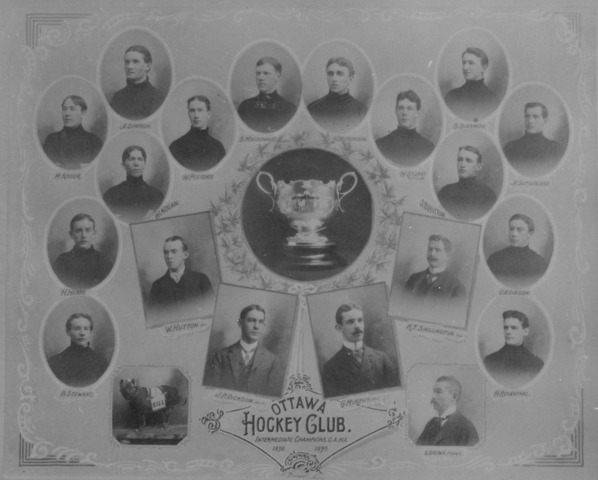 Ottawa Hockey Club Intermediate Champions C.A.H.L.  1898-1899