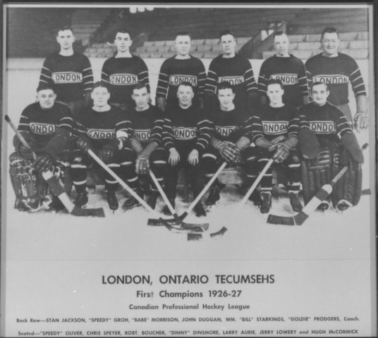 London Panthers  Canadian Professional Hockey League Champs 1927