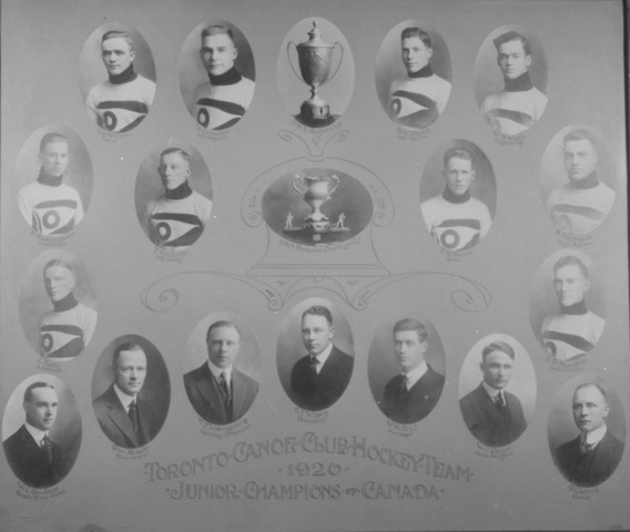 Toronto Canoe Club Paddlers Memorial Cup Champions 1920