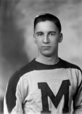 Ted Lindsay St. Michael`s College Hockey Team 1944