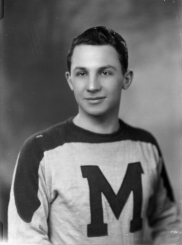 Gus Mortson St. Michael`s College Hockey Team 1944