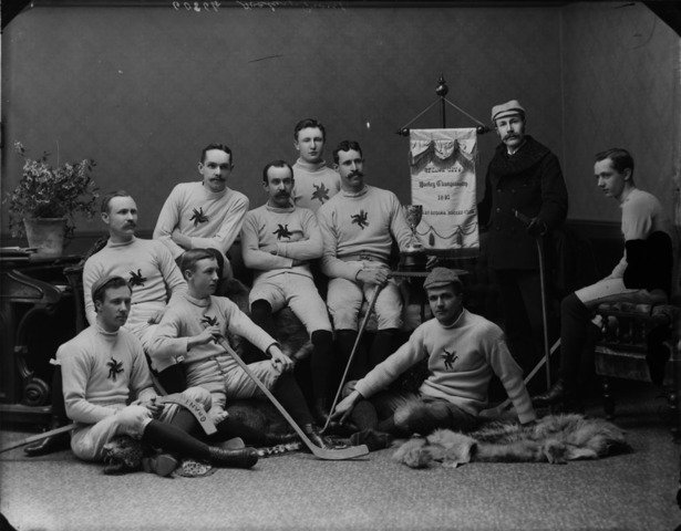 Ottawa Hockey Club OHA Champions and Cosby Cup Champions 1891