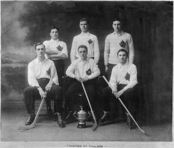 Oxford Canadians Champions of England 1910