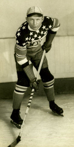 Normie Himes New York Americans 1929