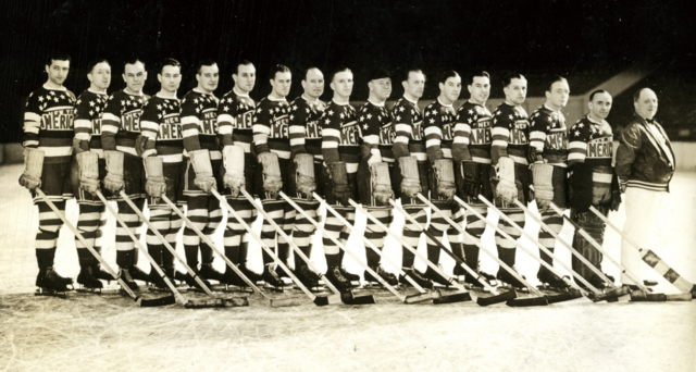 New York Americans Team Photo 1935