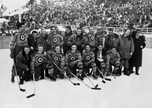 RCAF Flyers 1948 Winter Olympic Ice Hockey Champions