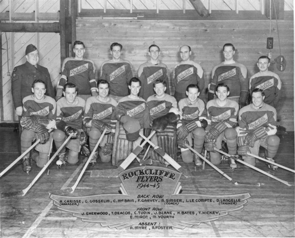 Rockcliffe Flyers Hockey Team 1944