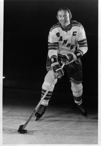 Bob Nevin New York Rangers 1970