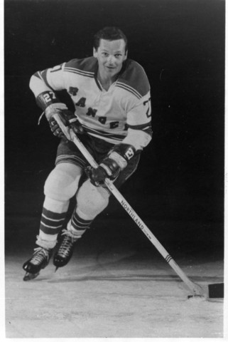 Ted Irvine New York Rangers 1970