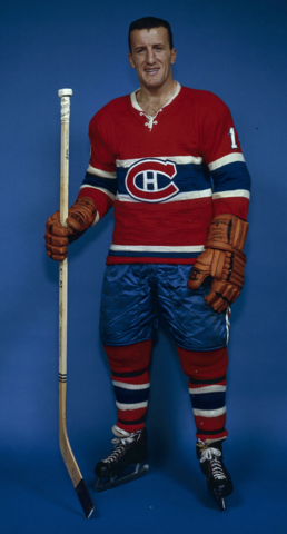 Claude Provost Montreal Canadiens 1961