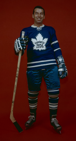 Ron Stewart Toronto Maple Leafs 1961