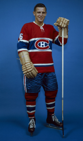 Ralph Backstrom Montreal Canadiens 1960