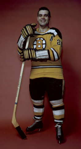 Léo Boivin Boston Bruins 1960