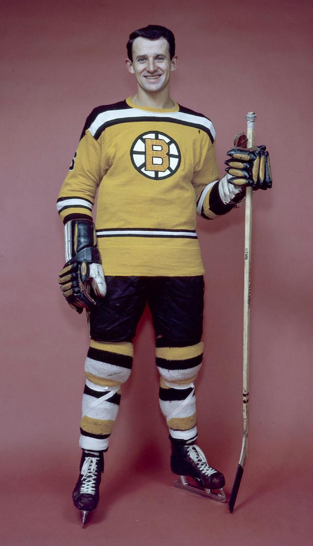 Bronco Horvath Boston Bruins 1960 Bruins Uke Line Legend