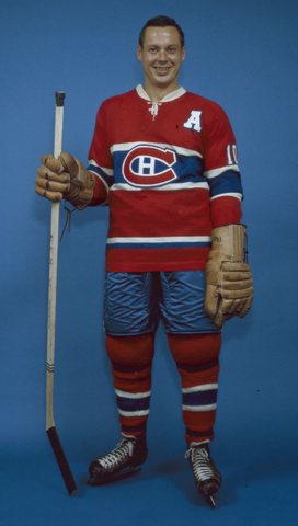 Tom Johnson Montreal Canadiens 1959