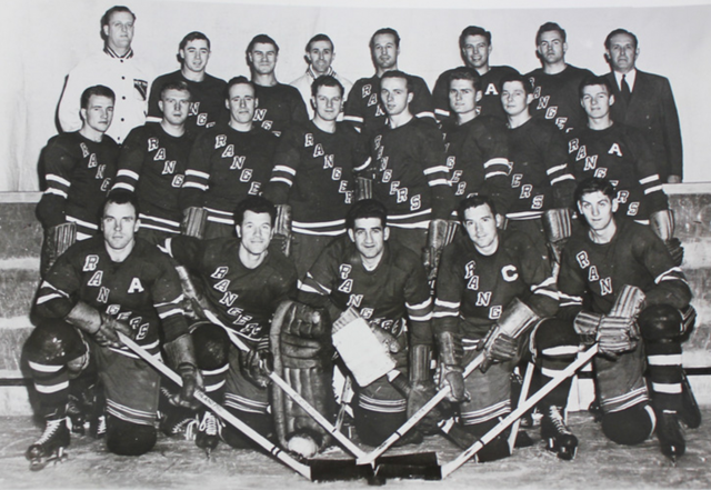 New York Rangers Team Photo 1949-50