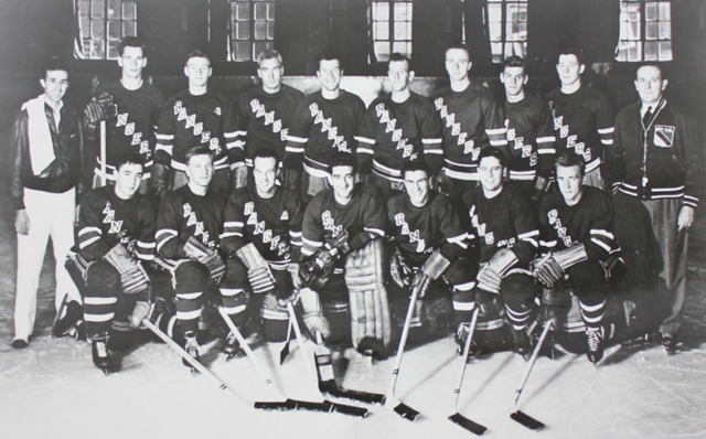 New York Rangers Team Photo 1948-49