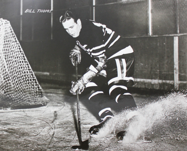 Bill Thoms Chicago Black Hawks 1942