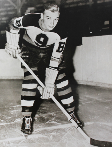 Roy Conacher Boston Bruins 1938