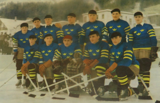 Tre Kronor IsHockey Olympic Team 1948 Sweden Olympic Hockey Team
