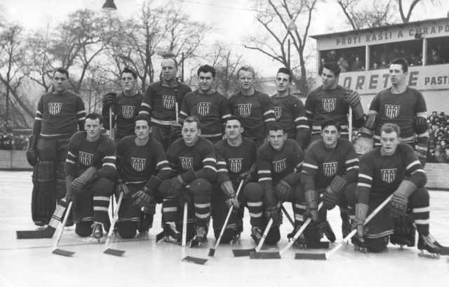 American Hockey Association 1948 Olympic Team