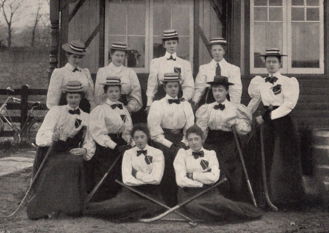Dundrum, County Down Ladies Hockey Team 1897 Northern Ireland