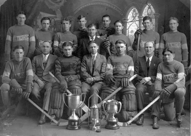 Canmore Hockey Club Alberta Champions 1930
