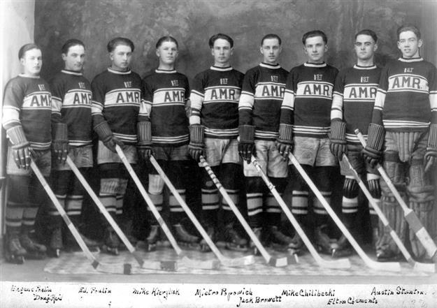 Alberta Mounted Rifles Hockey Team 1925