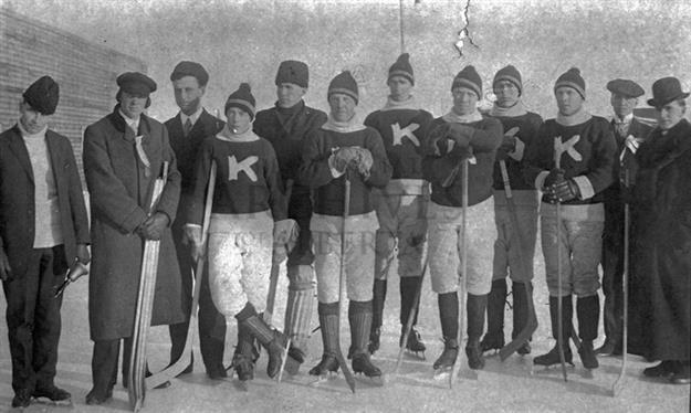 Kitscoty Hockey Team 1907