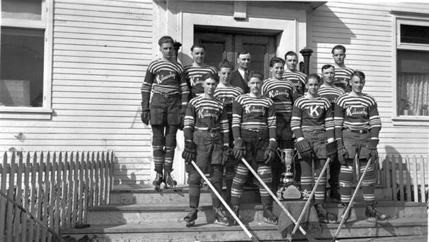 Kitscoty Hockey Team 1940