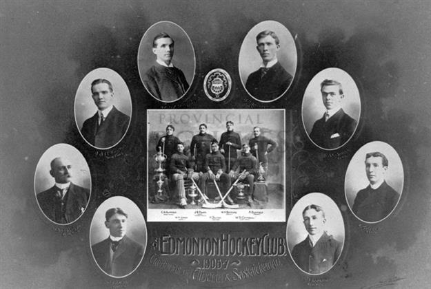Edmonton Thistles Champions of Alberta and Saskatchewan 1907