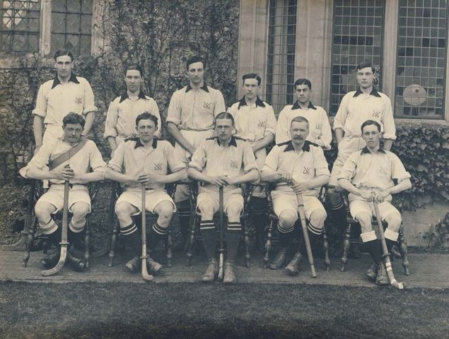 The College of St Gregory Hockey Team / Wye College Hockey 1910