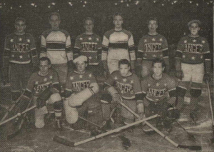 Massachusetts Rangers World Ice Hockey Champions 1933