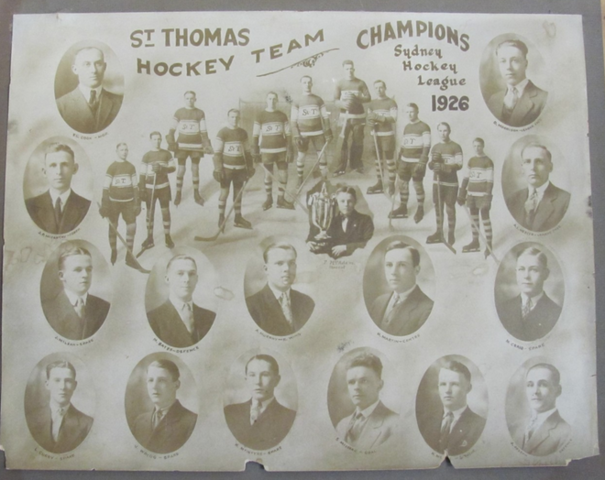 St Thomas Hockey Team  Sydney Hockey League Champions 1926