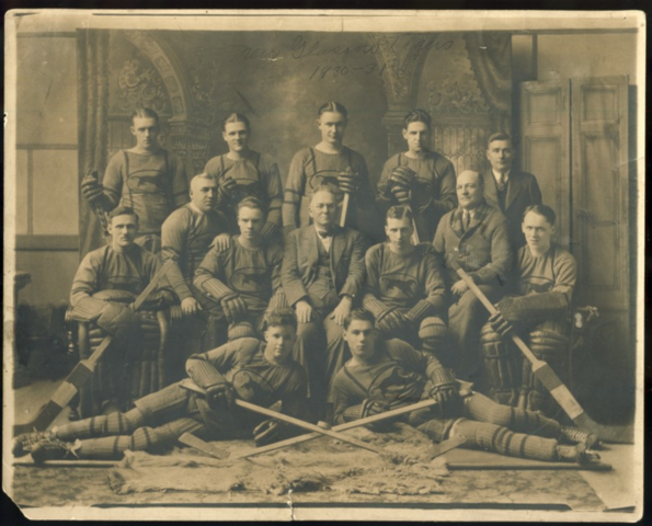 New Glasgow Tigers Hockey Team 1930-1931