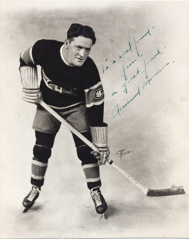 Armand Mondou 1st NHL Penalty Shot on November 10, 1934