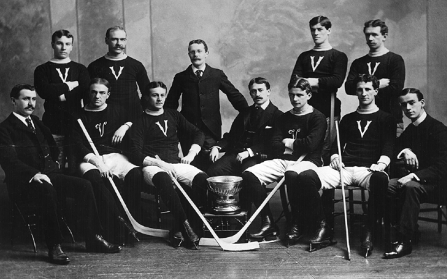 Montreal Victorias Stanley Cup Champions 1898