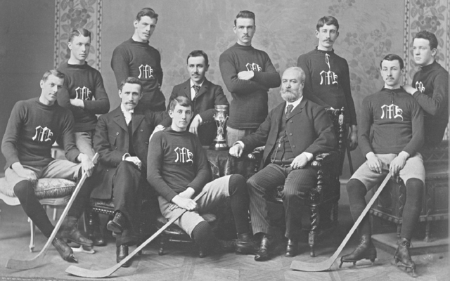 Maple Hockey Club - Montreal Intermediate Hockey Champions 1893