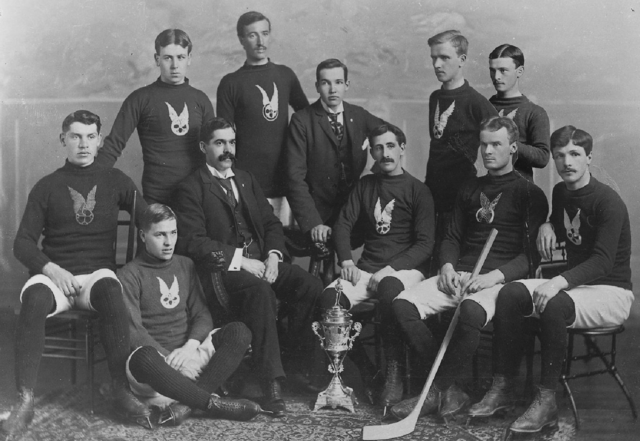 Montreal Hockey Club 1896 Montreal AAA Intermediate Team