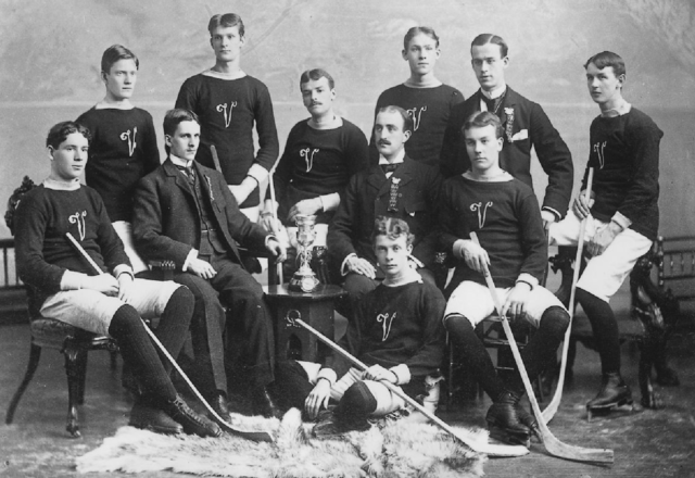 Junior Montreal Victoria Hockey Team 1896 Montreal Junior Champs