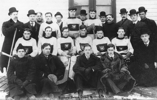 Montreal Wanderers / Wanderer Hockey Club in Winnipeg 1907