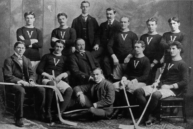 Montreal Victorias Stanley Cup Champions 1899 February