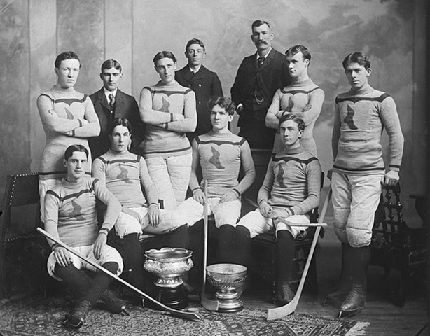 Montreal Shamrocks Stanley Cup Champions 1899 March