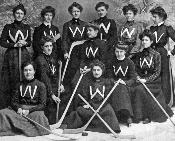 Westmount Ladies Hockey Club 1902