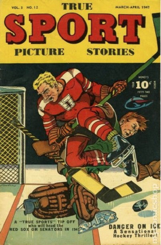 Hockey Comics - True Sport Picture Stories 1947