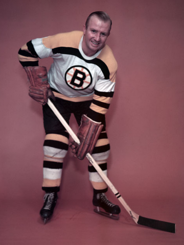 Bill Quackenbush Boston Bruins 1955
