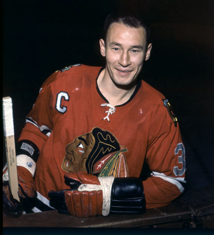 Pierre Pilote Chicago Black Hawks 1963