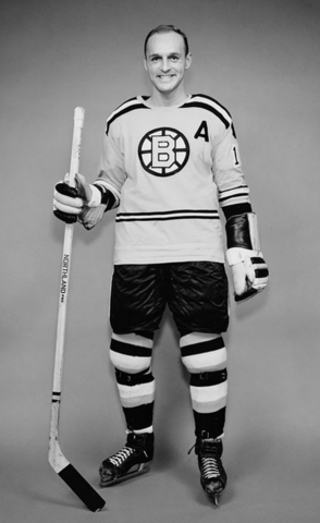 Doug Mohns Boston Bruins 1962