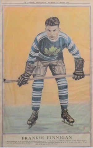 Frankie Finnigan La Presse Hockey Photo March 17, 1932